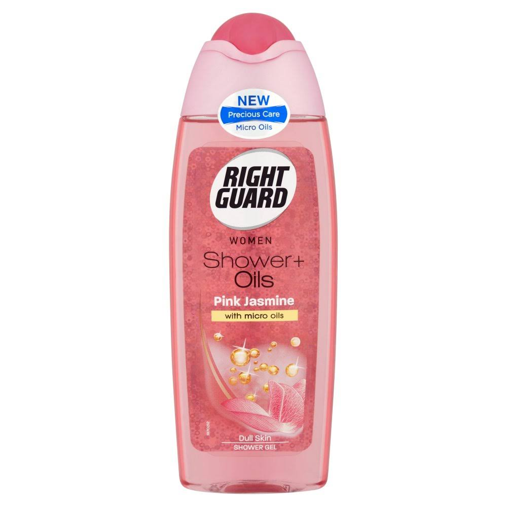 Right Guard Women Shower Plus Oils Dull Skin Shower Gel - Pink Jasmine, 250ml