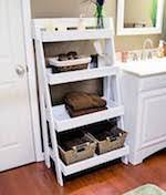 free ladder shelves woodworking plans and information at