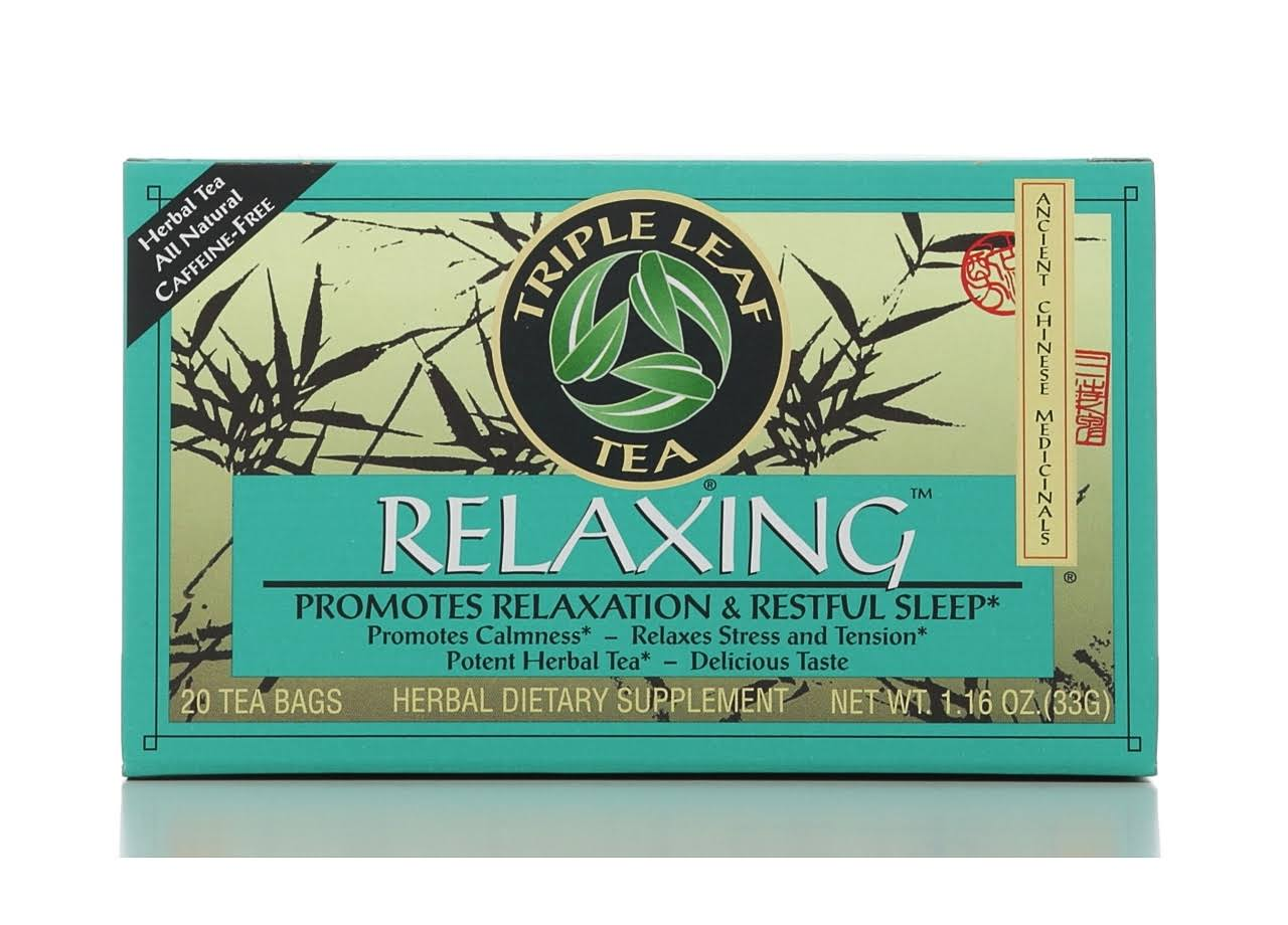 Triple Leaf Relaxing Herbal Tea - 20 Bags