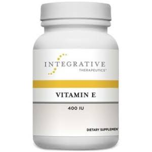 Integrative Therapeutics Vitamin E Supplement - 400Iu, 60 Softgels