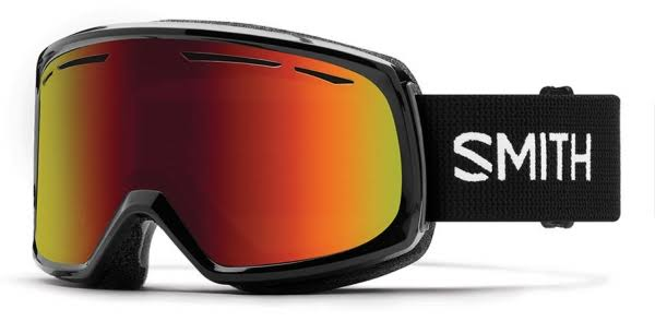 Goggles Smith Drift Black Red Sol-X Mirror