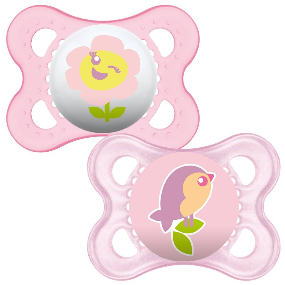 MAM Original Silicone Soother 0+ Months - 2 Pack