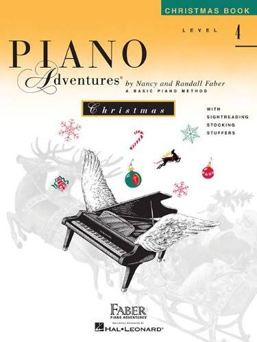 Piano Adventures Christmas Book Level 4 - Nancy Faber and Randall Faber