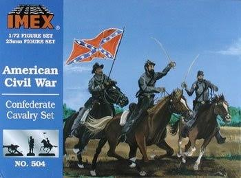 Imex Confederate Cavalry Set - American Civil War Figures