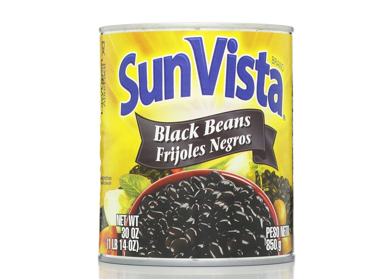 Sun Vista Black Beans - 30oz
