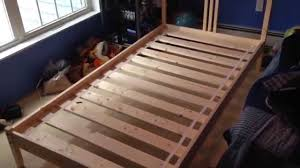 Ikea Flaxa Bed by How To Build Assemble Put Together Ikea Fjellse Wooden Twin Bed