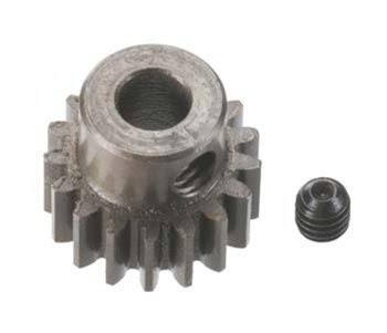 Robinson Racing Products 8717 Hard Bore Pinion Gear - 17T, 5mm, 0.8 Module