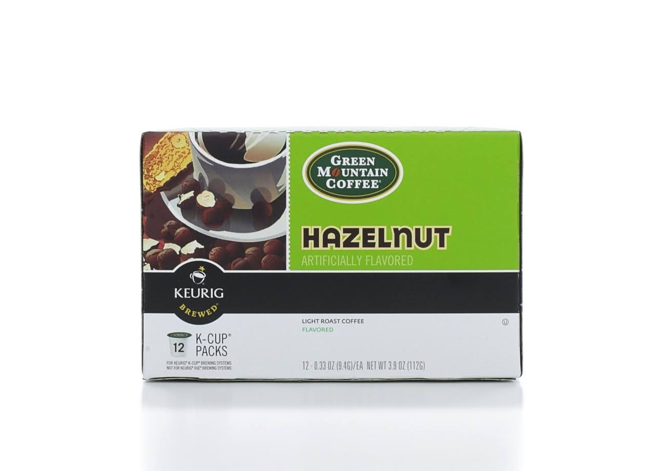 Green Mountain Coffee Keurig K Cups - Hazelnut, 12ct