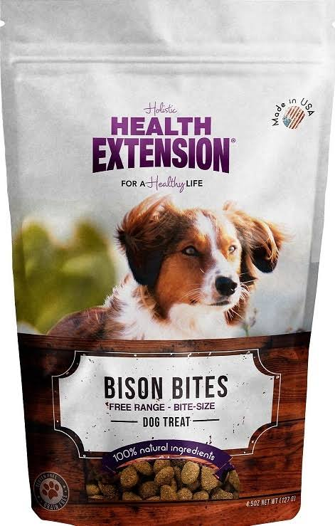 Health Extension Bison Bites Treats
