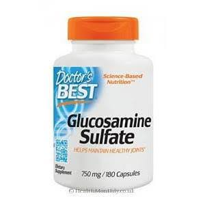 Doctor's Best Best Glucosamine Sulfate Dietary Supplement - 180 Capsules