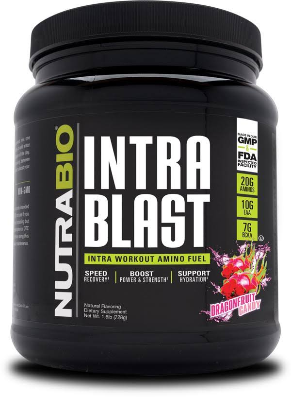 NutraBio Intra Blast Dragonfruit Candy 30 Servings