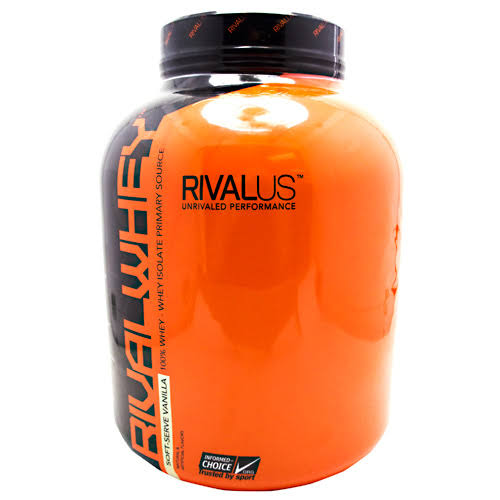 Rivalus Rival Whey Protein Powder Blend Sport Supplement - Vanilla, 5lb