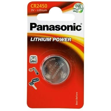 Panasonic Lithium Power CR2450 Battery