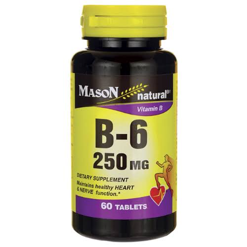 Mason Natural Vitamin B-6 Tablets