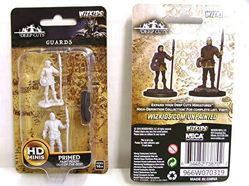 Wizkids Deep Cuts Unpainted Miniatures - Guards