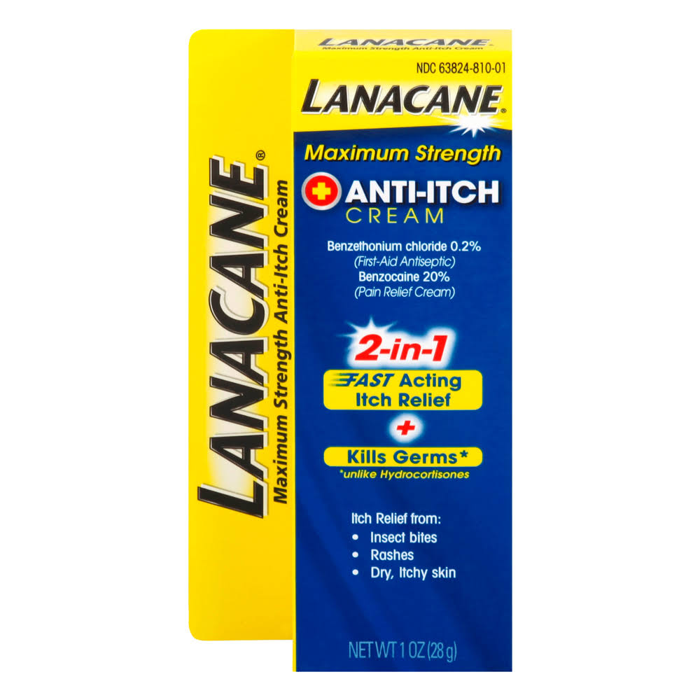 Lanacane Anti-Itch Cream - 28g
