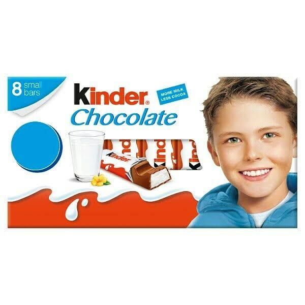 Kinder Chocolate Bars - 8ct