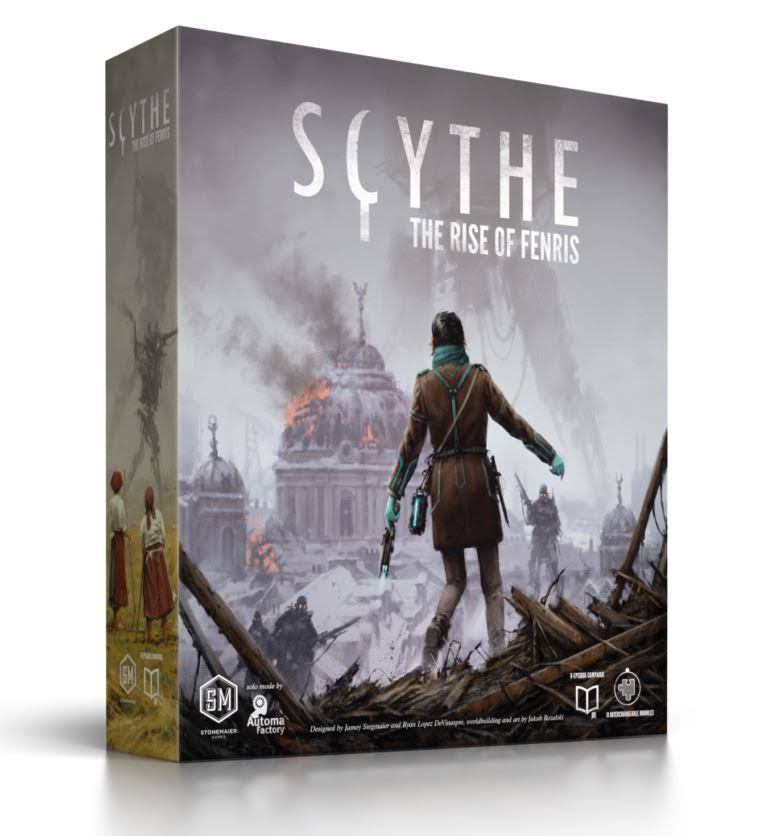 Stonemaier Games Scythe: The Rise of Fenris Expansion Board Game