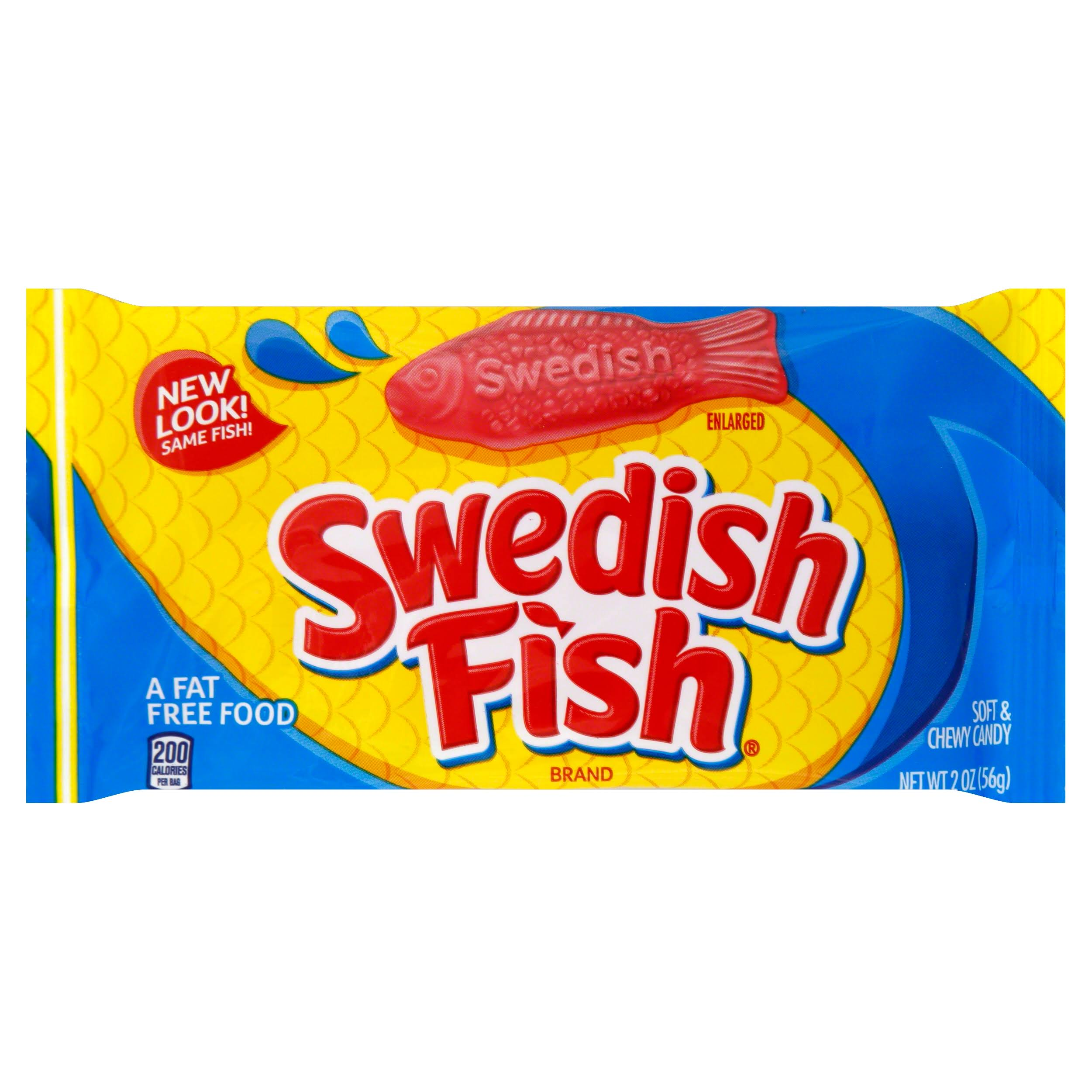 Swedish Fish Red Fish Soft and Chewy Candy - 2oz
