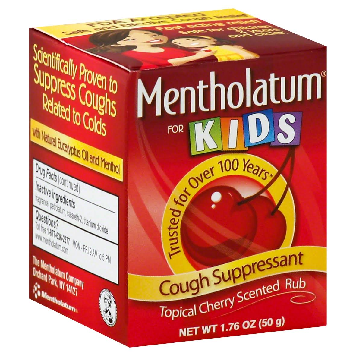 Mentholatum Chest Rub for Kids - 1.76oz, Cherry