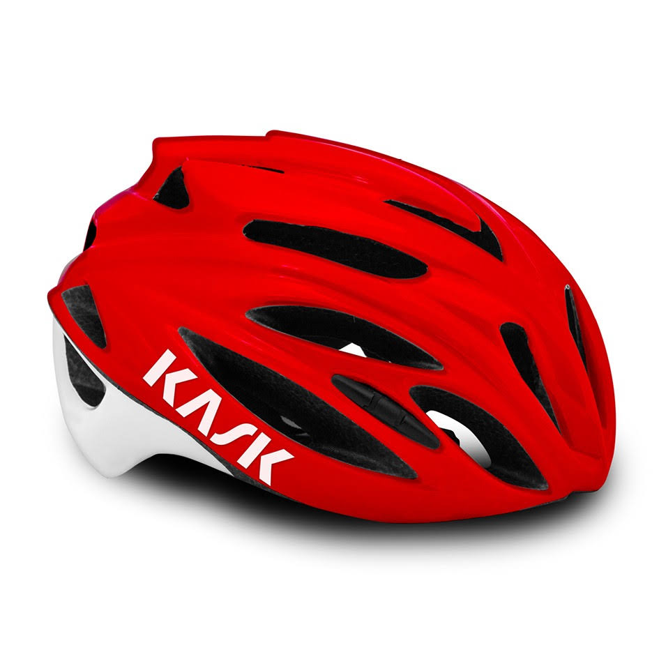 Kask Rapido Road Bike Helmet - Red, Large