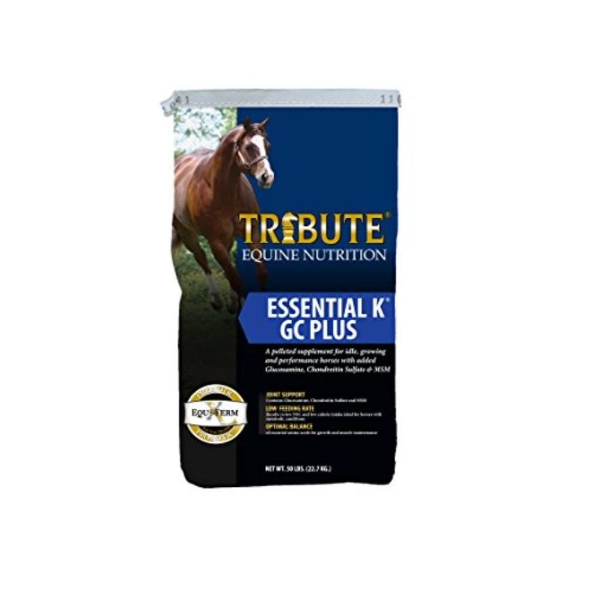 Kalmbach Feeds Tribute Essential K GC Plus for Horse 50 lb