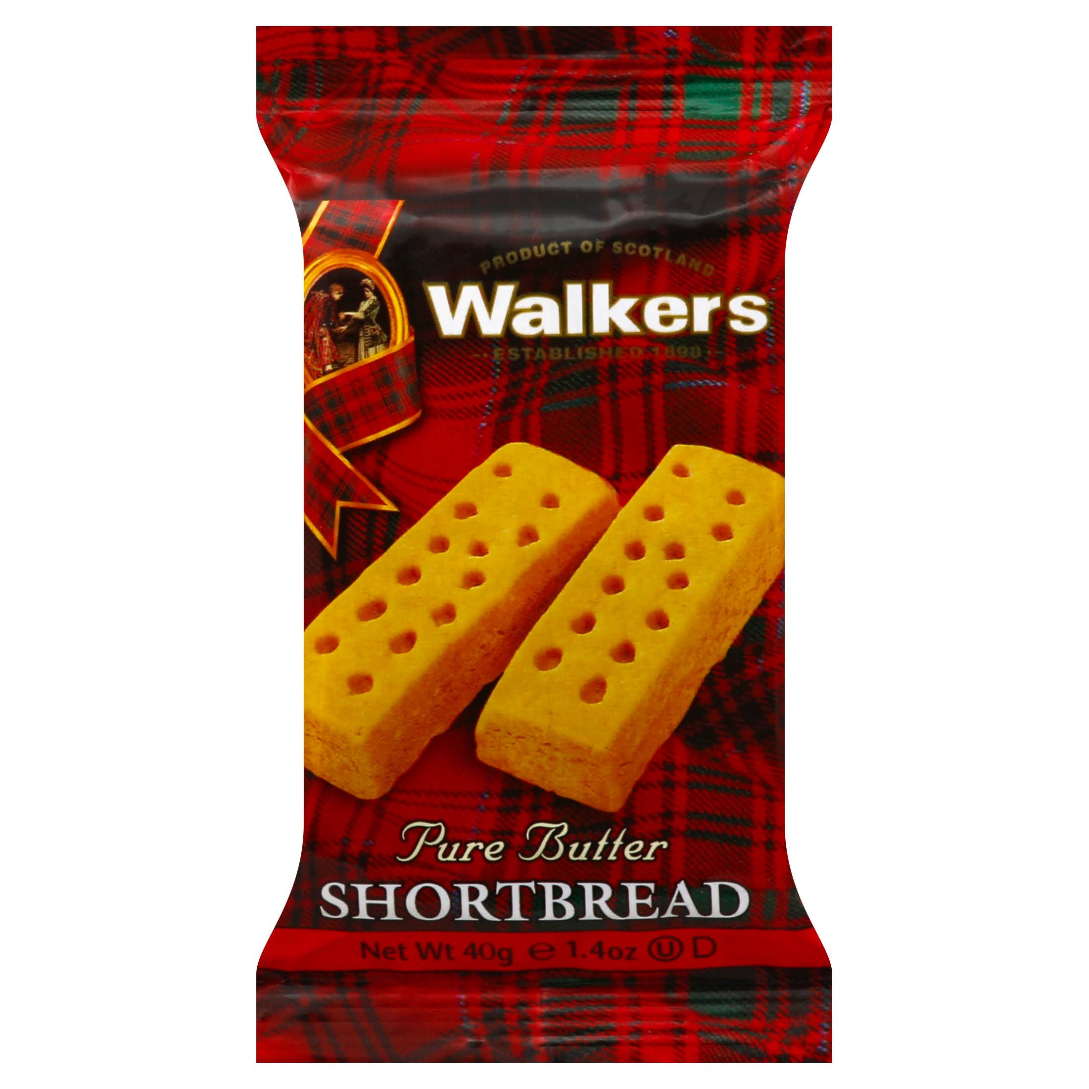 Walkers Shortbread, Pure Butter - 40 g