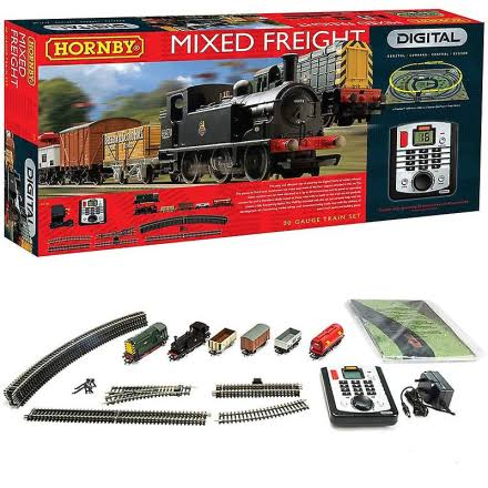 Hornby Digital Mixed Freight DCC Set