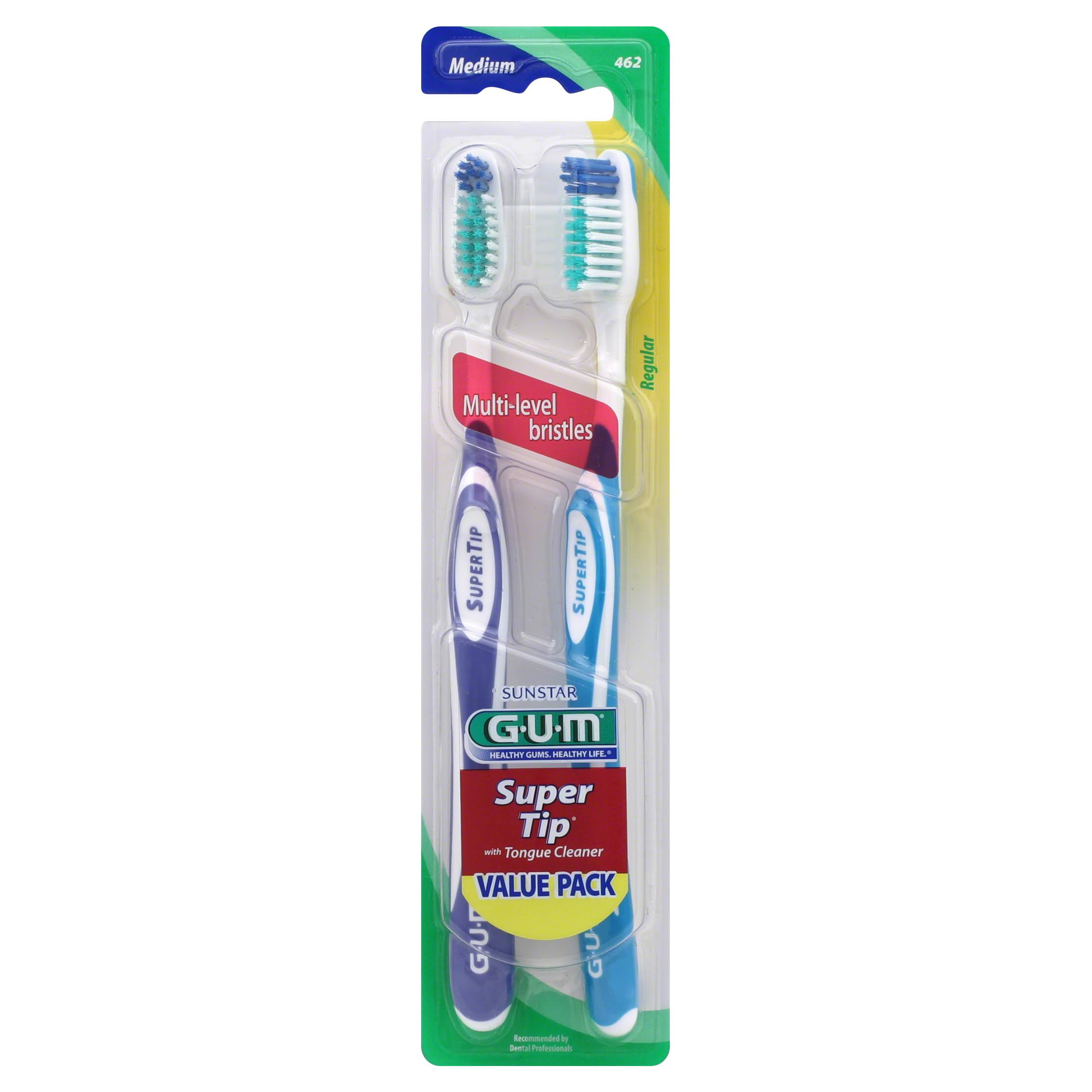 Gum Toothbrush - Medium, x2