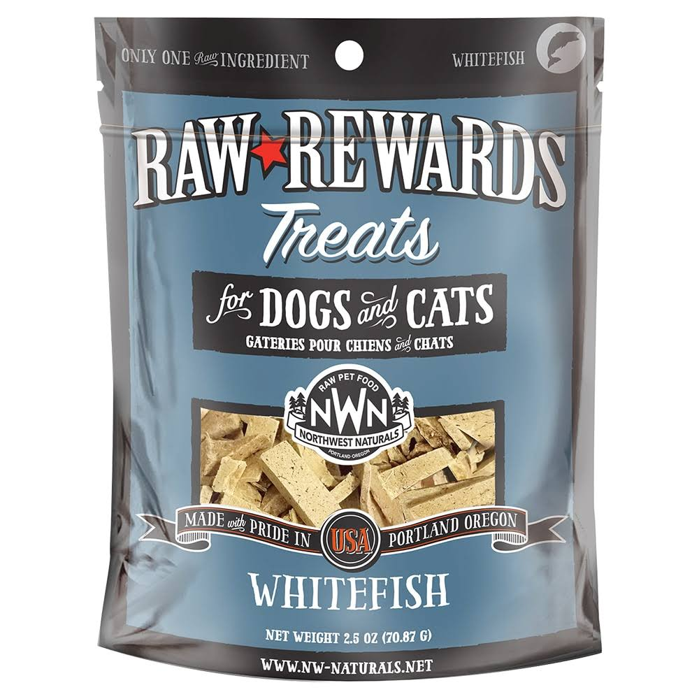 Northwest Naturals Raw Rewards Freeze Dried Whitefish Cat & Dog Treat