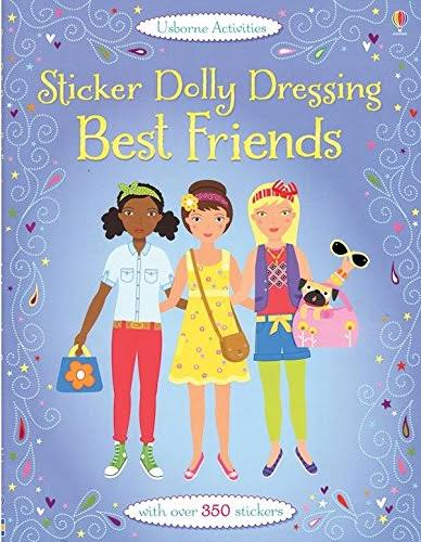 Sticker Dolly Dressing Best Friends - Lucy Bowman, Jo Moore