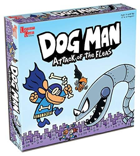 University Games Dog Man - Attack of The Fleas