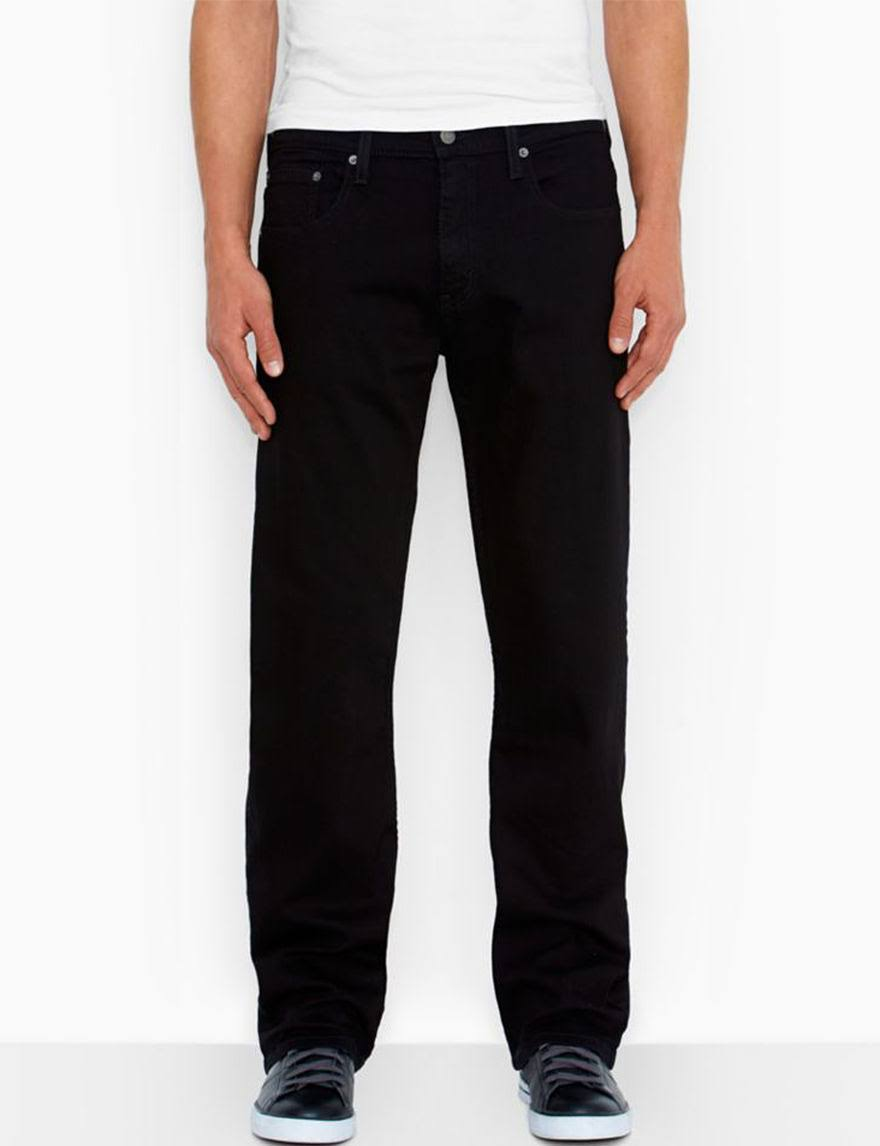 Levi's 569 Loose Straight Fit Men's Jeans - Black 38x32