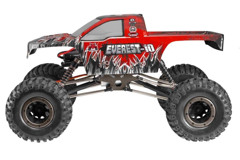 Redcat Racing Everest-10 1/10 Scale Rock Crawler Red