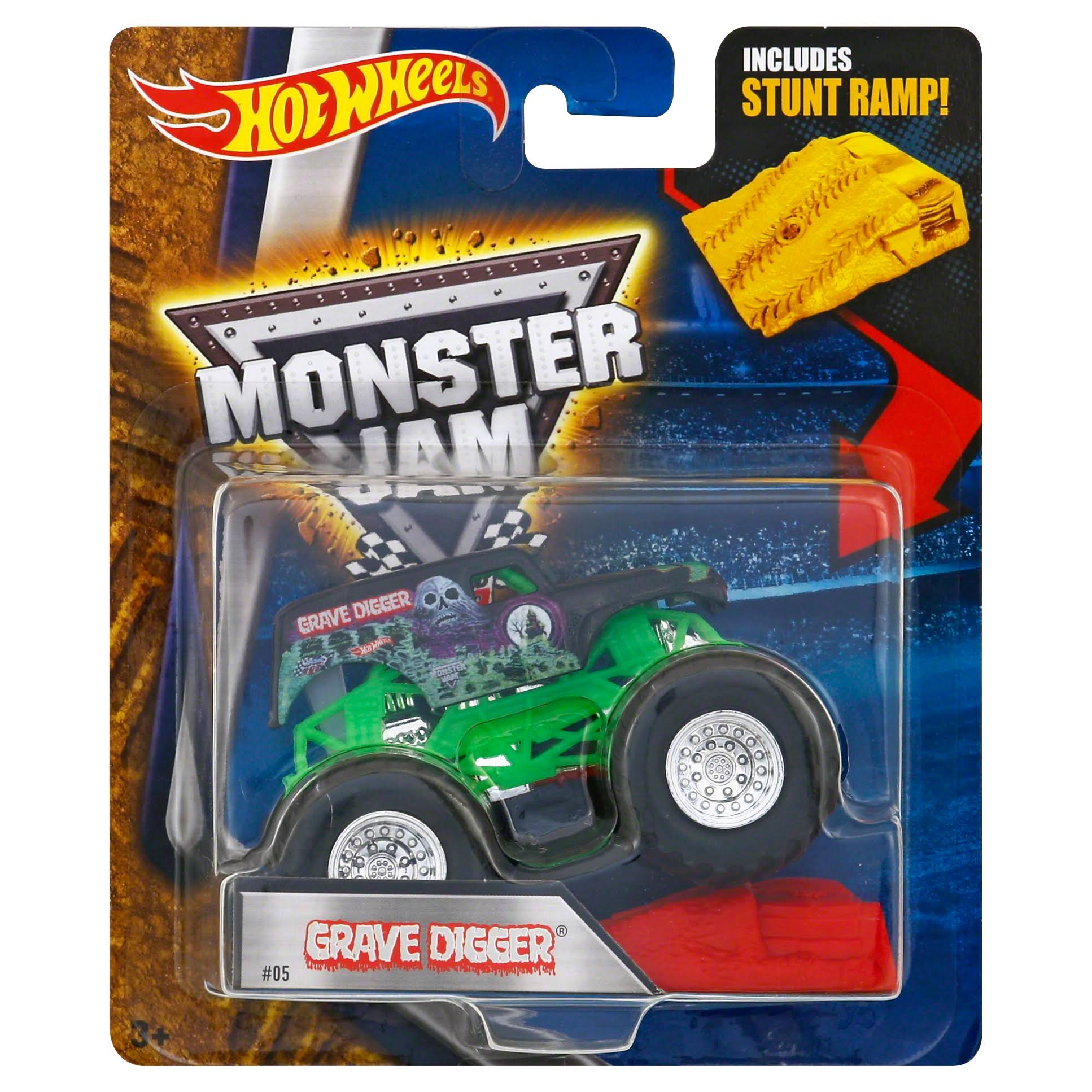 Hot Wheels Monster Jam Crushable Car