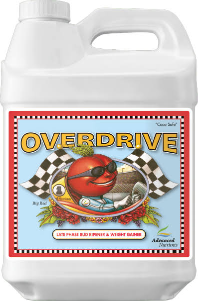 Advanced Nutrients Overdrive Fertilizer - 10L, Bloom Booster