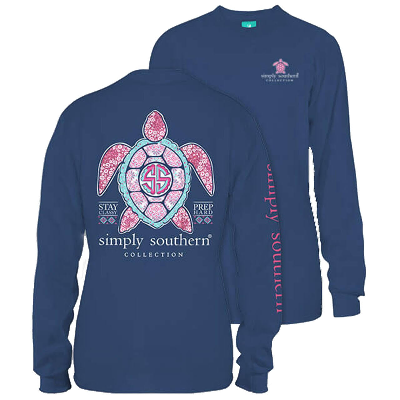 Simply Southern Princess Turtle Long Sleeve T-Shirt