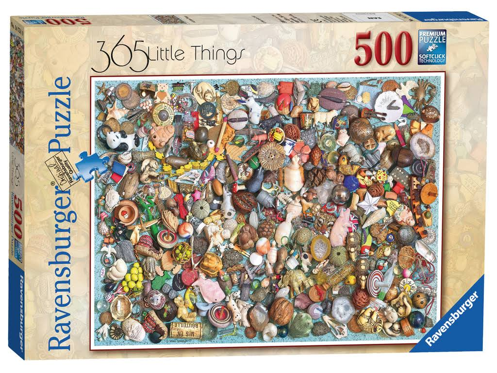 Ravensburger 365 Little Things Jigsaw Puzzle - 500 Pieces