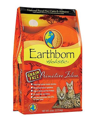 Earthborn Holistic Grain-Free Primitive Feline Dry Cat Food