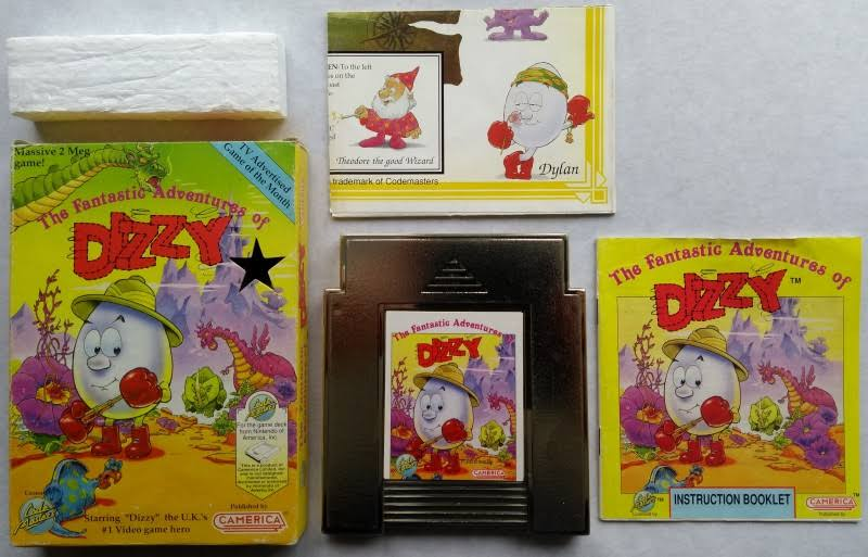 The Fantastic Adventures Of Dizzy And Super Mario [NES]