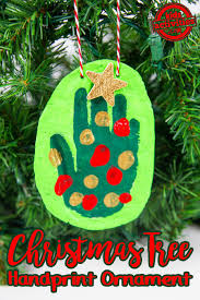 Kinds Of Christmas Trees by Handprint Christmas Tree Ornament Kids Activities
