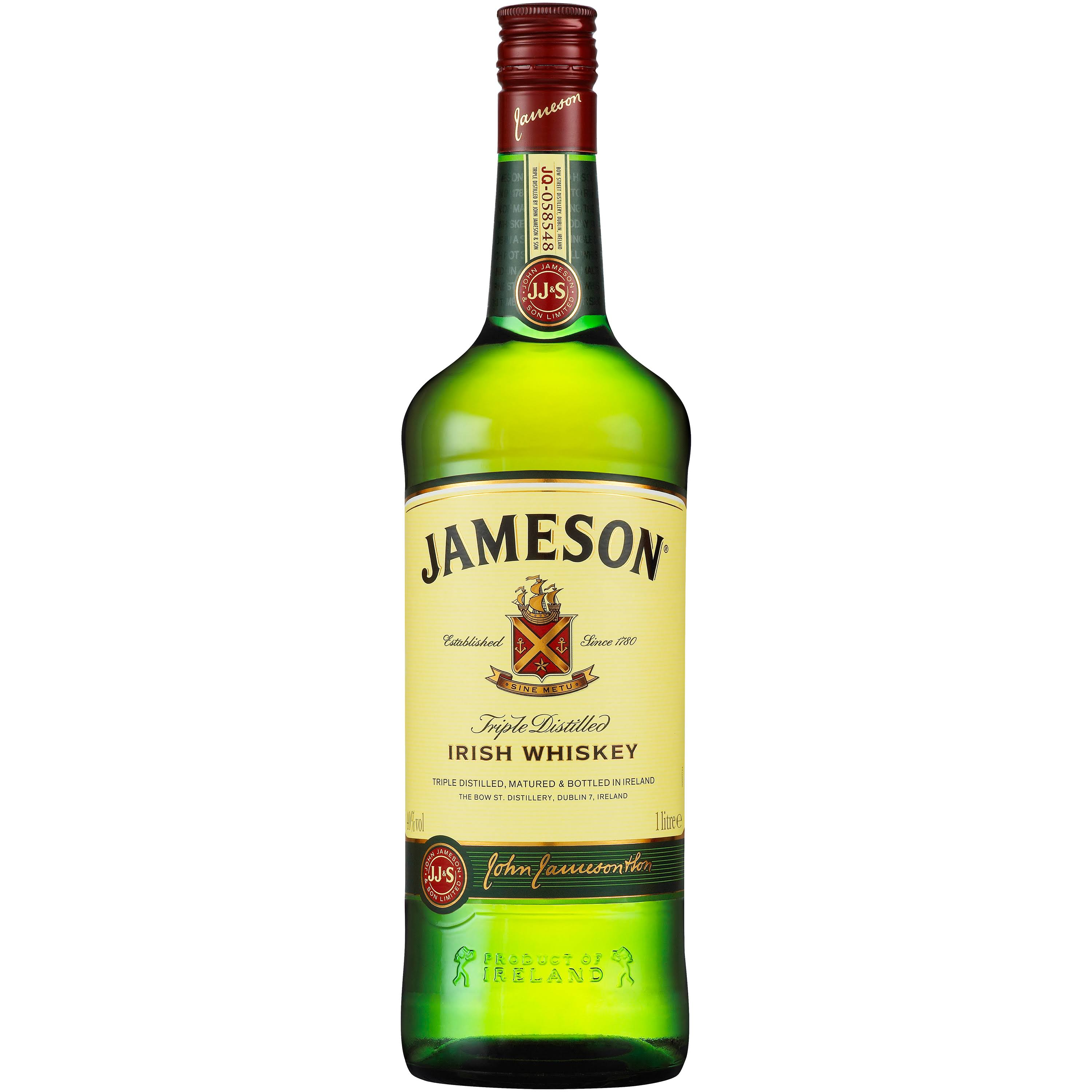Jameson Irish Whiskey - 1l