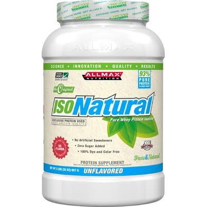 AllMax IsoNatural Unflavoured (907g) Unflavoured