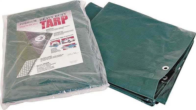 Mintcraft Tarp - Green, Silver