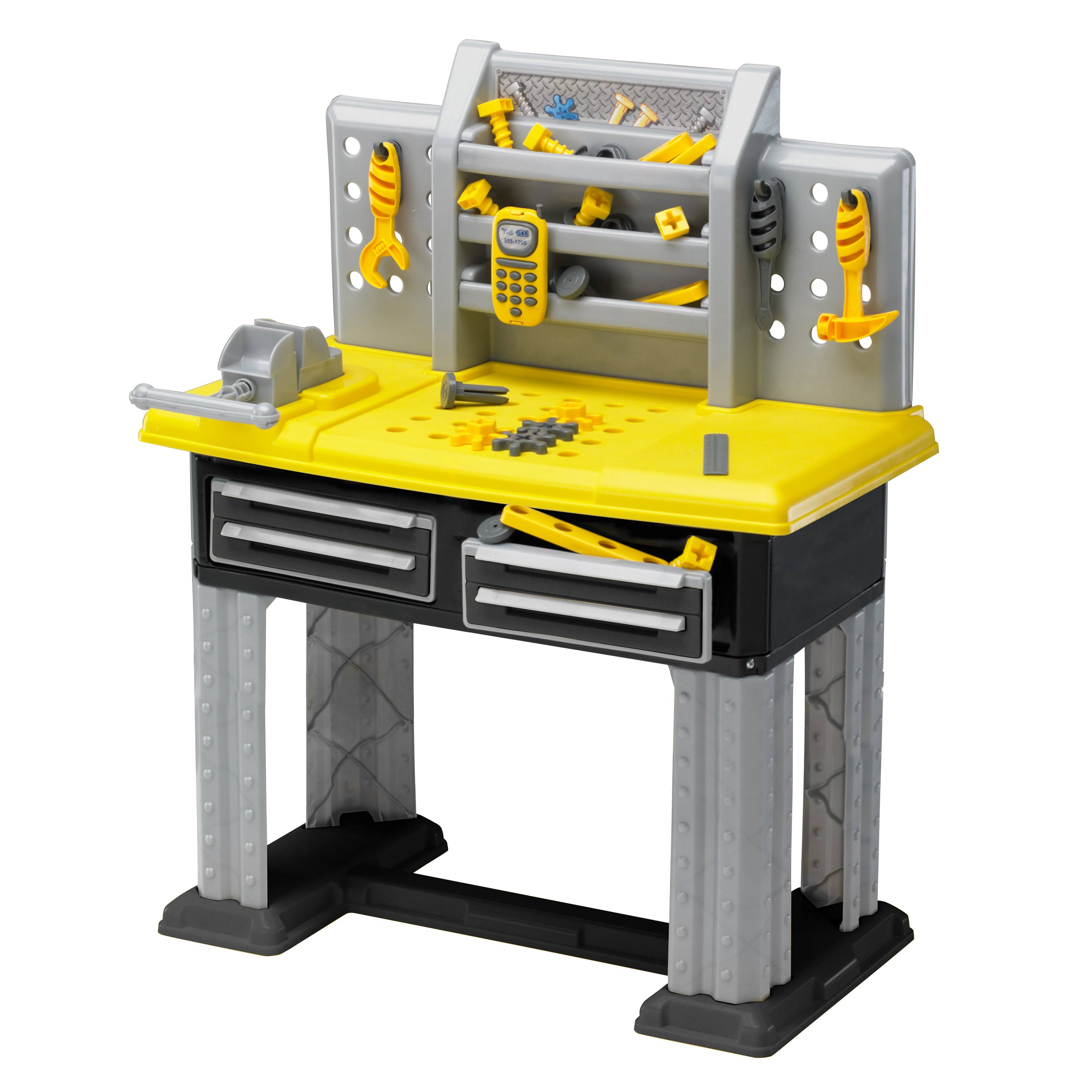 American Plastic Toys Deluxe Workbench