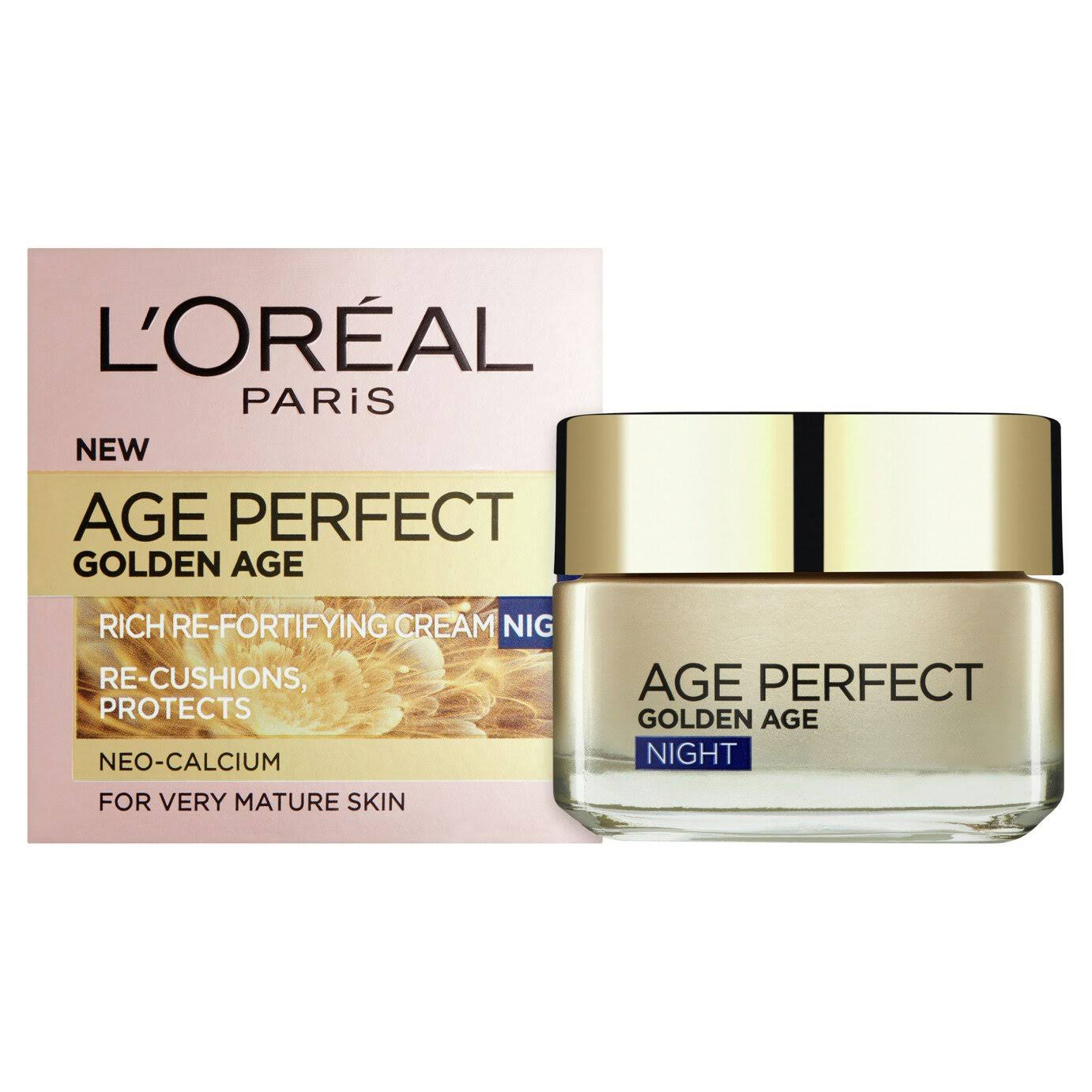 L'oreal Paris Age Perfect Golden Age Cooling Night Cream - 50ml