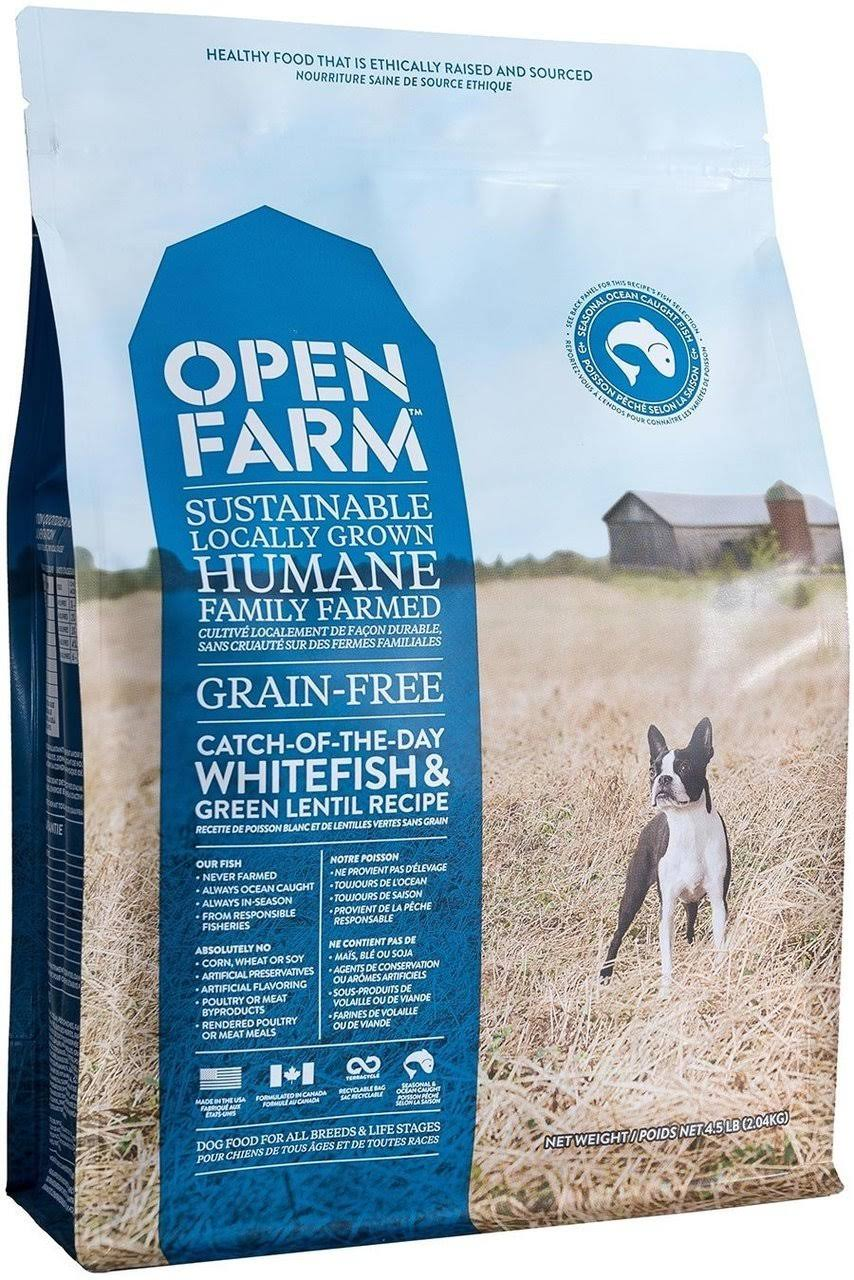 Open Farm Catch of The Day Whitefish & Green Lentil