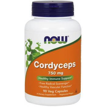 Now Foods Cordyceps - 750 mg x 90 ct