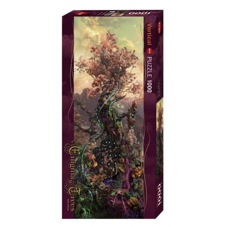 Heye Vertical Jigsaw Puzzle - Phosphorus Tree, 1000pcs