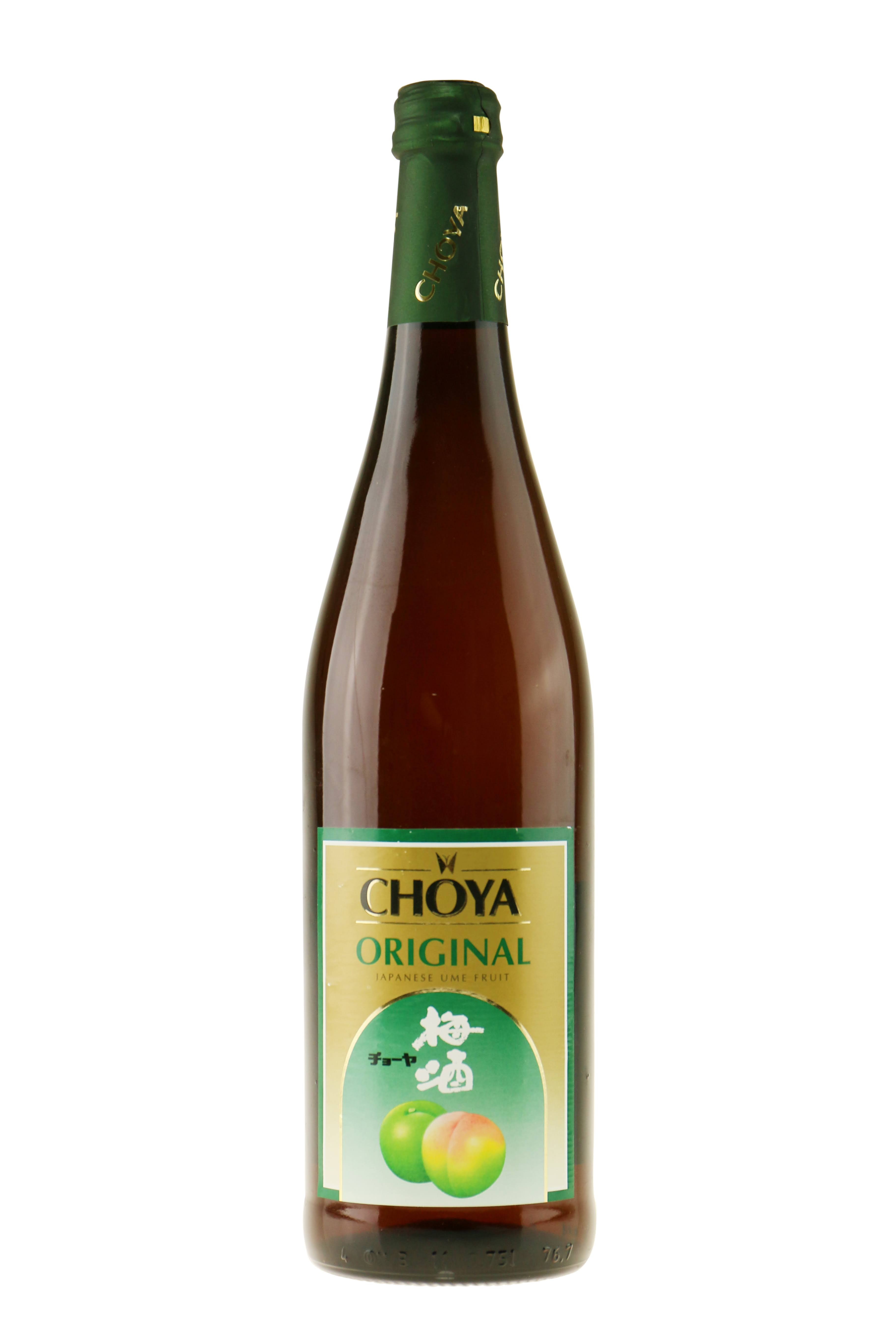 Choy Original Japanese Ume Fruit Wine - 0.75l